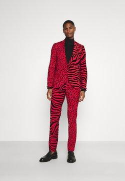 Twisted Tailor - GEHRY SUIT  - Anzug - burgundy