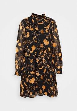 VILA PETITE - VIREMI DRESS PETITE - Robe chemise - black