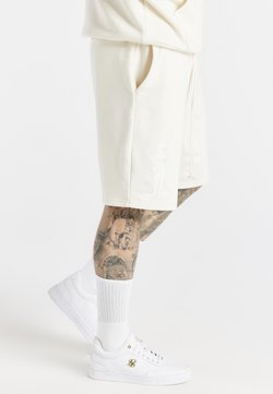 SIKSILK - SPACE JAM RELAXED FIT - Shorts - ecru