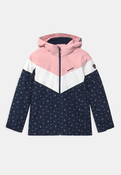 Ziener - ALJA - Kurtka snowboardowa - dark blue/light pink/white