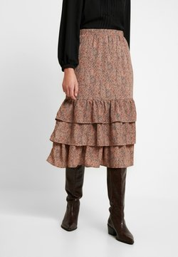 Selected Femme - SLFTAMMI SKIRT - Blyantnederdel / pencil skirts - ginger bread
