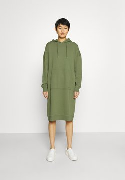 Marc O'Polo - DRESS HOOD - Freizeitkleid - dried sage