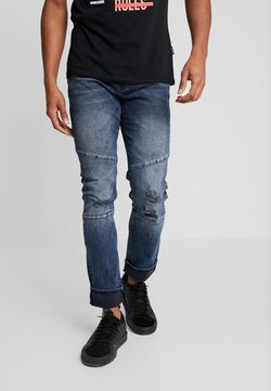 YOURTURN - Jeans slim fit - blue black denim