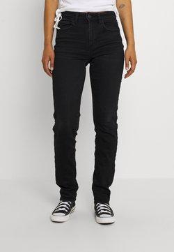 American Eagle - HI RISE SKINNY - Jeans Skinny Fit - bold black