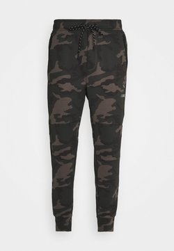 American Eagle - MANCHEGO TAPED JOGGER PANT PRINTS - Pantalon de survêtement - green