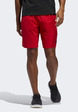 adidas Performance - 4KRFT SPORT ULTIMATE 9-INCH KNIT SHORTS - Shorts - red