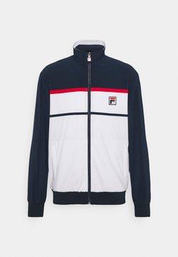 Fila - JACKET MAX - Training jacket - white/peacoat blue