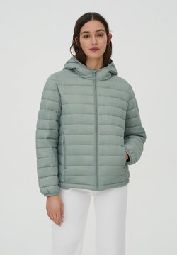 PULL&BEAR - Winterjas - light green