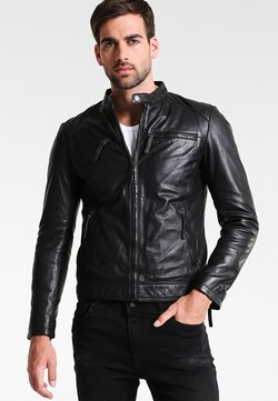Serge Pariente - TONIC - Veste en cuir - black