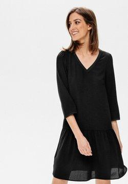Promod - COL V - Robe d'été - noir