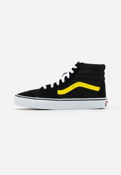 Vans - SK8 - Korkeavartiset tennarit - black/blazing yellow/true white