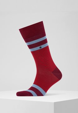 Burlington - STRIPE - Socken - scarlet (8228)
