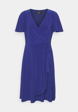 Lauren Ralph Lauren - MID WEIGHT DRESS - Jerseyklänning - sporting royal