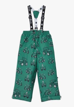 Småfolk - SKI PANTS TRACTOR - Täckbyxor - hunter green
