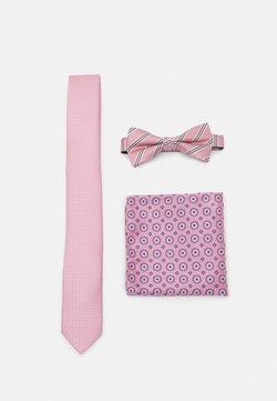 Jack & Jones - JACTIMOTHYNECKTIE GIFTBOX SET - Krawatte - raspberry rose