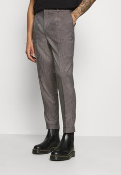 Scotch & Soda - BLAKE CLASSIC PLEATED STRUCTURED - Chino - dark brown