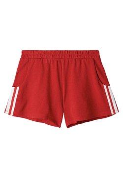 Tezenis - MIT STREIFEN - Shorts - red summer/bianco