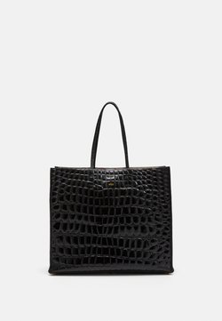 N°21 - SHOPPING ORIZZONTALE - Shopping Bag - black