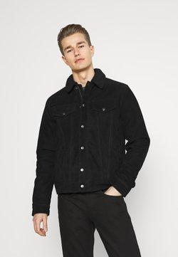 Schott - Veste en cuir - black