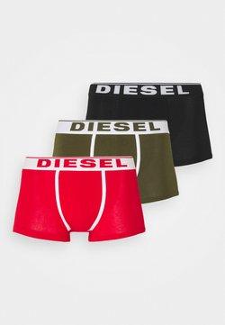 Diesel - DAMIEN 3 PACK - Panties - red/green/black