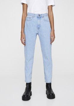 PULL&BEAR - Slim fit jeans - mottled light blue