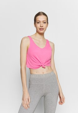 Cotton On Body - DOUBLE TROUBLE TANK - Top - aurora pink