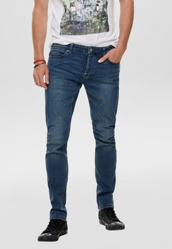 Only & Sons - ONSLOOM - Jean slim - blue denim