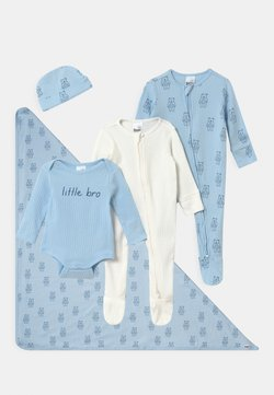 Cotton On - BUNDLE SET UNISEX - Mütze - white/blue