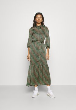Vero Moda - VMBERTA ANKLE DRESS  - Maxikjoler - fir green