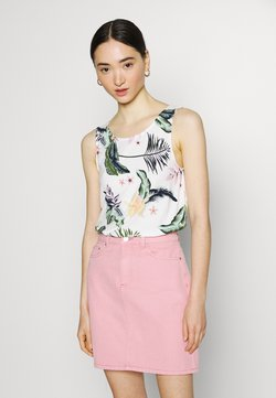 Roxy - FINE WITH YOU PRINTED - Top - snow white