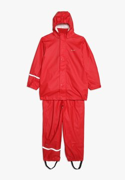 CeLaVi - BASIC RAINWEAR SUIT SOLID - Regnbyxor - red