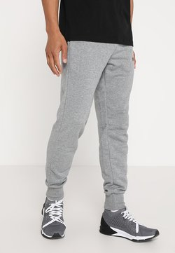 Puma - ESS LOGO PANTS - Jogginghose - medium gray heather