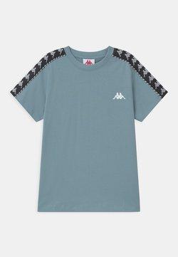 Kappa - ILYAS UNISEX - T-shirt print - ashley blue