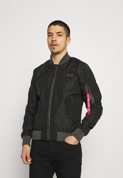 Alpha Industries - Giubbotto Bomber - black