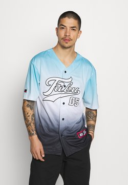 FUBU - VARSITY BASEBALL GRADIENT - T-Shirt print - lightblue