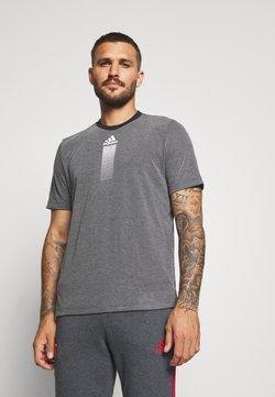 adidas Performance - 3 STRIPES ARSENAL FC SPORTS FOOTBALL PANTS - Vereinsmannschaften - dark grey
