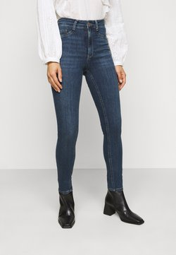 Gina Tricot Petite - MOLLY PETITE - Jeans Skinny Fit - dark blue