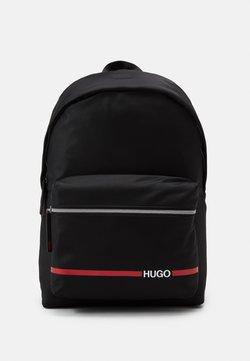 HUGO - RECORD BACKPACK  - Reppu - black