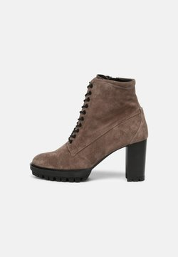 Högl - Lace-up ankle boots - taupe