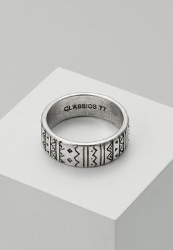 Classics77 - AZTECA BAND - Ringar - silver-coloured