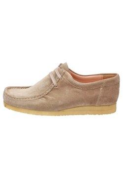 Sioux - GRASHOPPER - Chaussures à lacets - beige