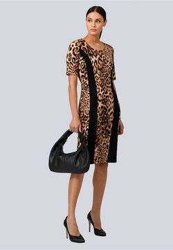 Alba Moda - Jerseykleid - schwarz,braun