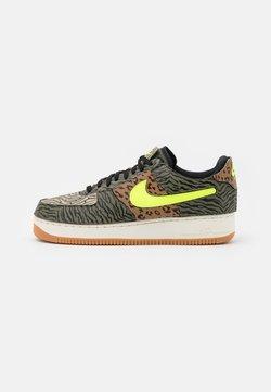 Nike Sportswear - AF1/1 UNISEX - Sneaker low - medium olive/volt/rattan/black/dark driftwood/sail