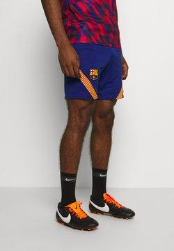 Nike Performance - FC BARCELONA DRY SHORT - Pantalón corto de deporte - deep royal blue/amarillo