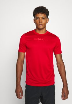 Craft - CORE ESSENCE TEE  - Camiseta estampada - red