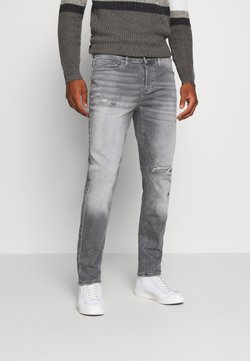 River Island - CABLE STETSON SLIM - Slim fit jeans - grey