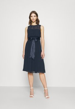 Nly by Nelly - SUCH A DREAM MIDI DRESS - Vestido de cóctel - navy