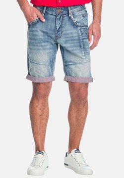 Koroshi - Shorts vaqueros - azul claro