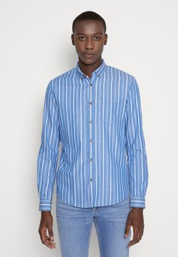 TOM TAILOR DENIM - STRIPED LONG SLEEVE - Hemd - blue