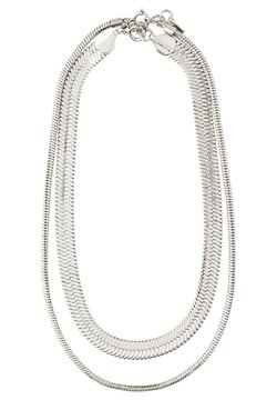 Pilgrim - NECKLACE RECONNECT 2 PACK - Halsband - silver plated